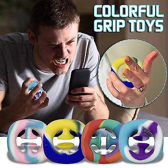 Autism Special Needs Stress Reliever Anxiety Relief Extrusion Sensory Toy 4pcs