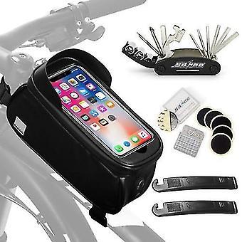 لحقيبة الهاتف المحمولة التي تعمل باللمس إصلاح الدراجة حقيبة الهاتف للماء WS45484
