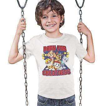 Paw Patrol Boys Born For Greatness T-Shirt