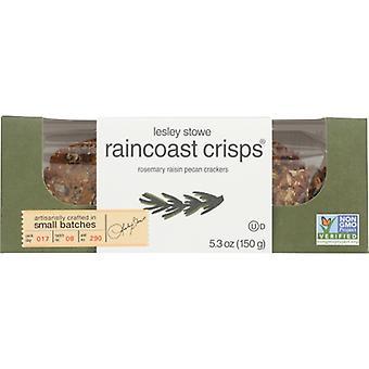 Lesley Stowe Crisps Rsmry Raisin Pecan, Caso de 12 X 5.3 Oz