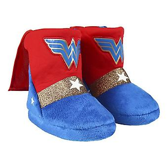House Slippers Wonder Woman Red