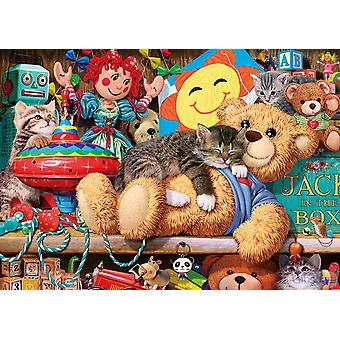 Gibsons Snoozing on the Ted Jigsaw Puzzle (250XL Pieces)