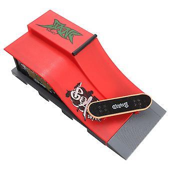 Mini finger skateboard kid fingerboard legetøj park rampe finger bord rekreation