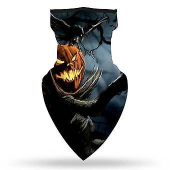 (D) Cycling Tube Scarf Snood Face Masks Cover Neck Warmer Bandana Halloween