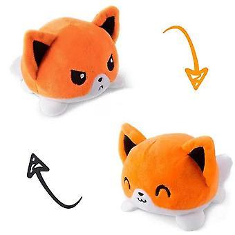 Fox Reversible myke leketøy fylt dyr