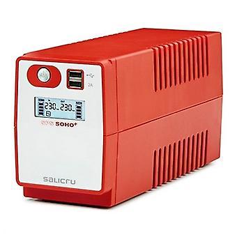 Offline UPS Salicru 647CA000003 360W punainen