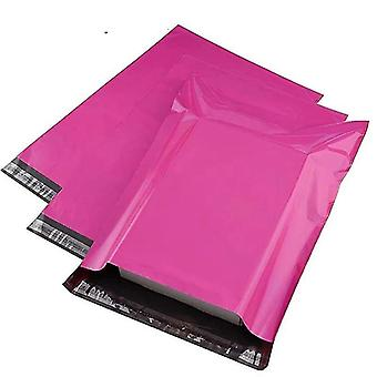 Envelopes pink poly mailer self adhesive post package glue seal postal bag courier