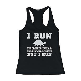 Ich bin langsamer als eine Schildkröte lustige Training Tank Top Gym Ärmelloses Shirt