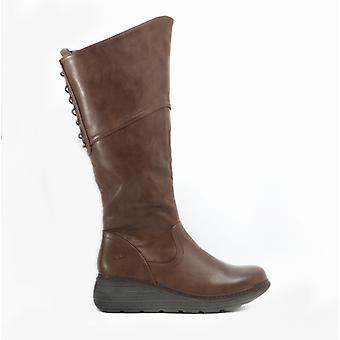 Heavenly Feet Ohio Ladies Tall Boots Chocolate
