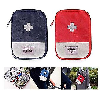 First aid kits first aid kit emergency medical bag travel pill box outdoor storage box 18*13*1.5Cm red