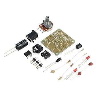מודול מגבר Mini של Lm386 Diy קומפקטי מודול מגבר שמע 3v-12v