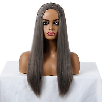 Pelucas de centro comercial de marca, pelucas de encaje, pelucas realistas de pelo largo esponjoso de pelo largo pelucas de personalidad