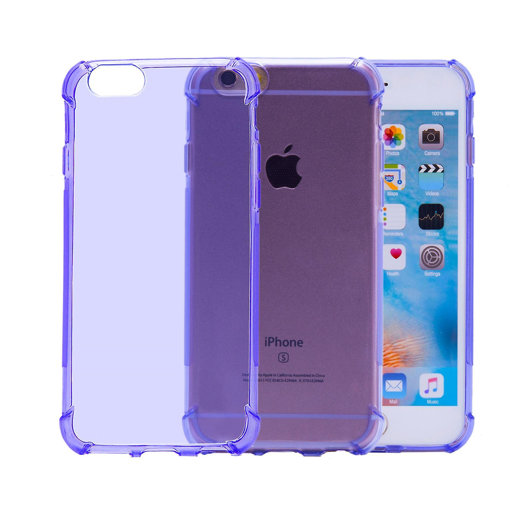 Tough Gel case for Apple iPhone 6 6S - Purple