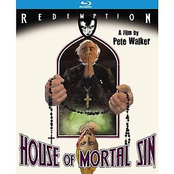 House of Mortal Sin [BLU-RAY] USA import