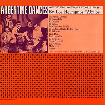 Los Hermanos Abalos - Los Hermanos Abalos: Vol. 2-traditionella danser av Argentina [CD] USA import