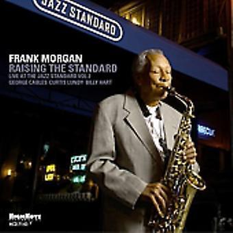 Frank Morgan - Raising the Standard [CD] USA import