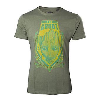 Vogtere af Galaxy Vol 2 Jeg er Groot ekstra T-Shirt-grøn M størrelse