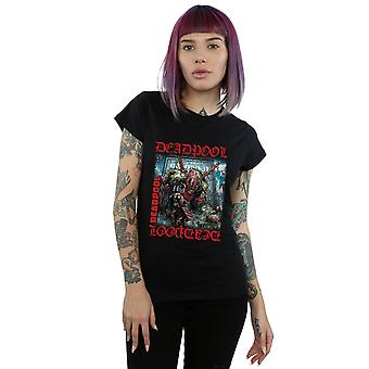 Marvel Women's Deadpool Here Lies Deadpool T-Shirt
