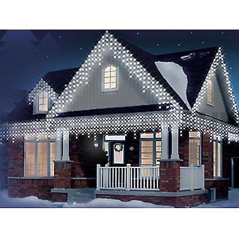 Pingente de Natal 240/360/480/720/960 levou nevando festa de luzes de Natal ao ar livre