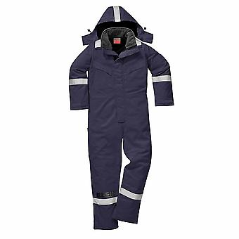 Portwest - Fire Resist Safety Workwear Anti-Static Winter Coverall Boilersuit