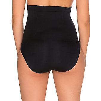 Sans Complexe 619153 Women's Slimmers Black Firm/Medium Control Slimming Shaping High Waist Brief