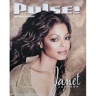 Janet Jackson Pulse Promotional Poster