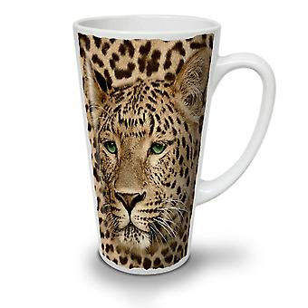 Beast Animal Leopard NEW White Tea Coffee Ceramic Latte Mug 12 oz | Wellcoda