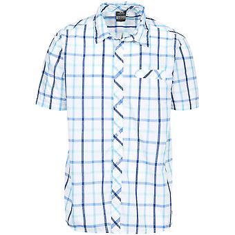 トレスパス メンズ Arviat 半袖チェック シャツ