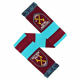 West Ham United FC officiel Crest Design barre écharpe