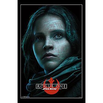 Star Wars Rogue One - Jyn Poster Print