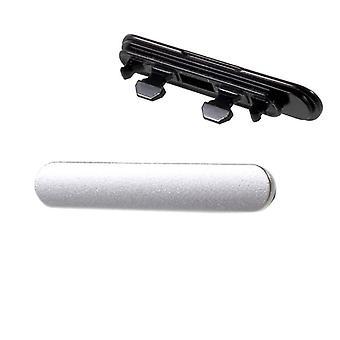 USB + MicroSD opłata za Jack cover Cap uszczelka dla Sony Xperia X F5121 F5122 srebrny