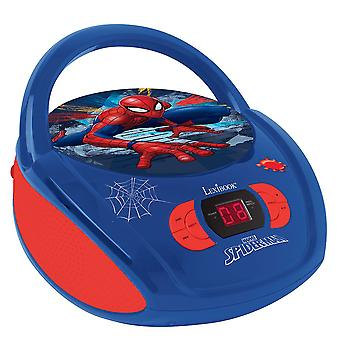Lexibook rádio CD Player Spiderman (modelo no. RCD108SP)