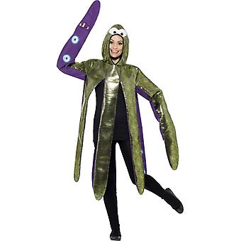 Oktopus Krake Tintenfisch Kostüm Erwachsene Krakenkostüm
