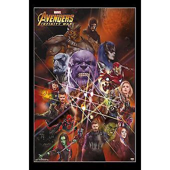 Avengers Infinity War - Universe Poster Print
