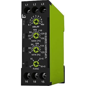 Monitoring relay 230 - 400 V AC 1 change-over tele V2PM400Y/230VS10 1 pc(s)