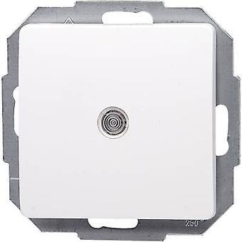 Interruptor de alavanca de inserir Kopp Paris branco 650693083