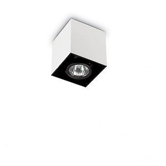 Ideell Lux humør 8,5 cm GU10 hvite overflaten torget taket Spotlight