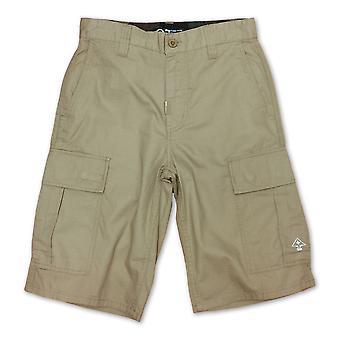 LRG klassiske løs passer Cargo Shorts britiske Khaki