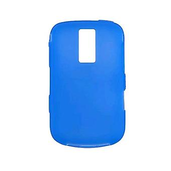 Pacote 5 - solução Premium Gel caso sem fio para BlackBerry Bold 9000 (azul)