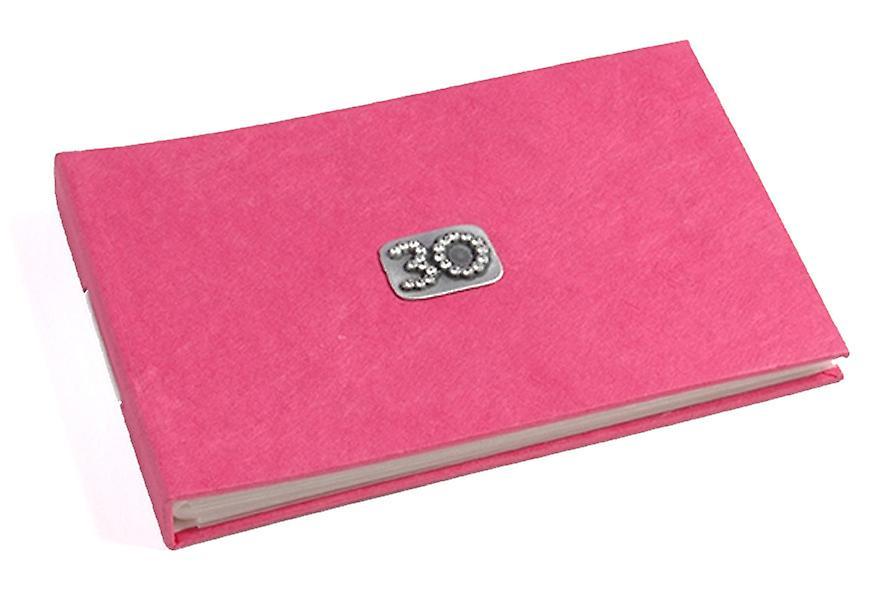 30 Célébration Fushia Rose Pocket Album Photo
