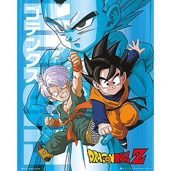 Dragon Ball Z-Trunks und Son Goten Plakat Poster drucken