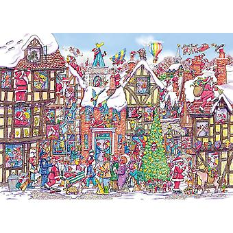 Gibsons Santa scramble Puzzle bauble (250Buc)