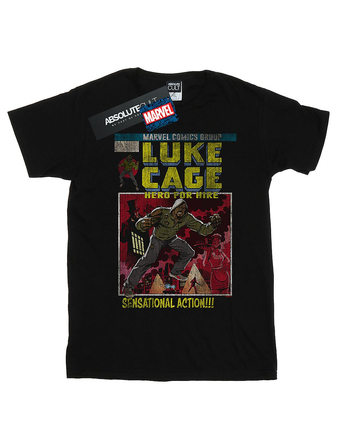 Marvel Men's Luke Cage Distressed Yourself T-Shirt