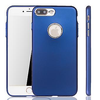 Apple iPhone 7 / 8 Plus Hülle - Handyhülle für Apple iPhone 7 / 8 Plus - Handy Case in Dunkelblau