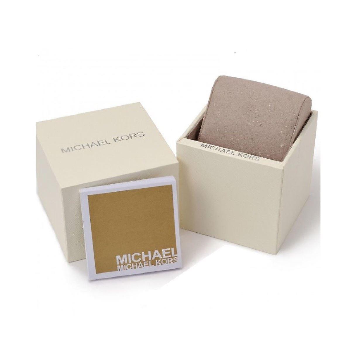 Michael Kors Callie Wrist Watch Stainless Steel Strap Silver Dial MK3342