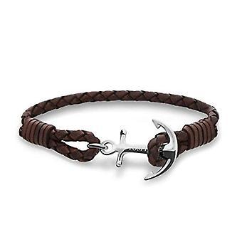 Tom Hope Havana Brown Sterling Silver Bracelet Small TM0210