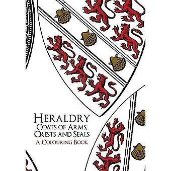 Heráldica - brasões de armas - cristas e lacra um livrinho de colorir por Amberl