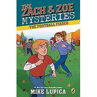 The Football Fiasco (Zach and Zoe Mysteries)