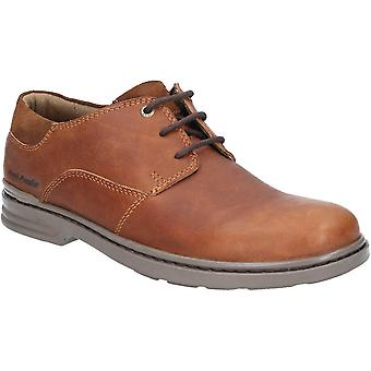 Hush Puppies Mens Max Hanston Classic Lace Up Dress Shoes