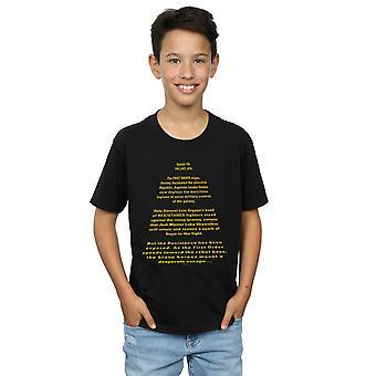 מלחמת הכוכבים נערי הג האחרון פותח חולצת טריקו